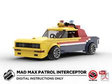 Lego MOC   Mad Max MFP Patrol Interceptor   PDF Instructions (NO BRICKS)