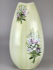 60er 70er Vase Blumenvase Porzellanvase Rosenthal Lis Müller Handgemalt 60s 70s