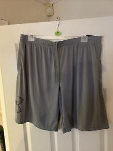 Under Armour Mens Heatgear Grey Shorts XXL
