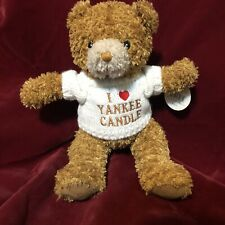 Yankee Candle Teddy Bear Plush in White Sweater Soft Blanket Fragrance Scent 12""