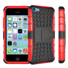 For Alcatel POP 4 5051 New Shock Proof Stand Phone Case Cover RED
