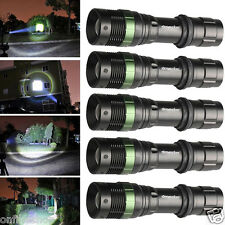 5PCS Ultrafire 6000LM 3-Modes CREE XML T6 LED Torch Light 18650 Rechargeable New
