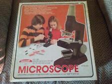Vintage 1976 Skilcraft Senior Microscope Set W/Stage Illuminator In Original Box