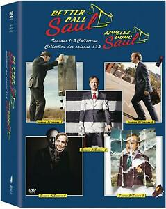 Better Call Saul Seasons 1,2,3,4,5 Collection DVD Box Set