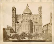Italie, Palerme, Palermo, Sicile, duomo, cattedrale  Vintage albumin print,  T