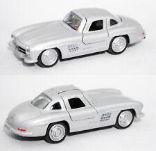 Norev 310702 Mercedes-Benz 300 SL, silbergraumetallic, 3inch, OVP