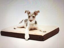 New listing Bark Premium Memory Foam Dog Bed (Grey) 29x18x3