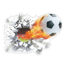 3D Adesivo murale Pallone da calcio Parete Cameretta Bambini muro ball