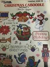 Leisure Arts Christmas Caboodle  Cross Stitch Patterns