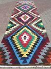 "Vintage Turkish Kilim Rug Runner Carpet Runner 32,2""X119,6"" Hallway Corridor Rug"