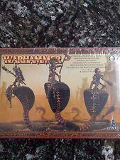 Rare OOP Necropolis Knights/Sepulchral Stalkers NiB Tomb Kings Warhammer AoS