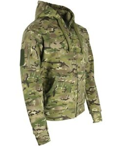 Kombat MTP Spec-Ops Hoodie Deluxe Zipped Warm Jumper Outdoors Camping Military
