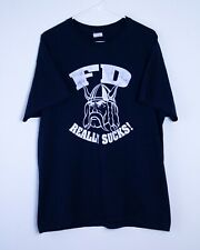 Vintage NYPD Viking Society PD/FD Rivalry T-Shirt - Men's Large