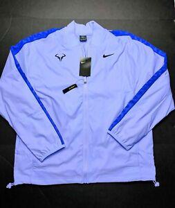 Nike Rafa Nadal Full-Zip Purple Tennis Jacket Size XL CI9135-531