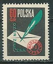 Poland stamps MNH (Mi. 1068) Stamp day