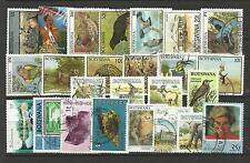 BOTSWANA STAMP COLLECTION PACKET of 25 DIFFERENT Used Stamps NICE SELECTION