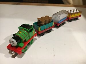 Percy and the Chocolate Cars for Thomas & Friends Take N Play or Take Along