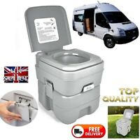 Motorhome Boat Campervan Flush Toilet 20L Travel portable Loo Self Build Camper
