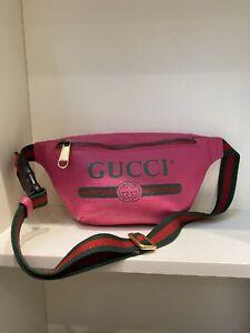 Authentic Gucci Waist Belt Bum Bag