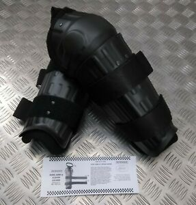 Genuine British Security Forces & Police Issue Elbow And Fore Arm Guard Set