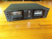Onkyo Stereo Cassette Deck TA-RW11 Dual Reverse Recorder Dolby -  Not Working