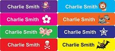 24pk Iron-On Name Labels - Clothing School Personalised Custom