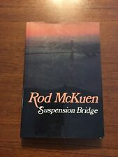 SIGNED Suspension Bridge By Rod McKuen 1st Edition First Printing 1984
