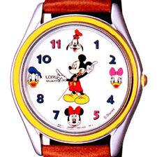 Mickey & Minnie, Donald & Daisy Duck, Goofy Seiko Lorus Unworn RRS260 Watch $115