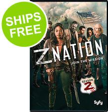 Z Nation Season 2 (DVD, 2016) NEW, Sealed, Russell Hodgkinson, Nat Zang