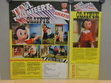 2x Advertising PUBLICITÉ 1975 / ca.A4 / Olijfje Popeye Olive doll (T-03084)
