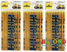 Minions Wooden Pencils School Supplies Pencils Party Favors