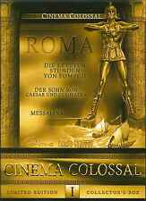 3DVD - CINEMA COLOSSAL I: 79 A.D. / Son of Cleopatra / Messalina – GERMAN