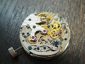Seagull manual Winding 3 register chronograph TY2903 - ST1903 movement 31.3mm