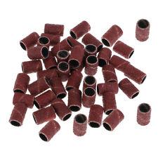 50 Stück Schleifbänder Schleifkappen Schleifhülsen für Maniküre