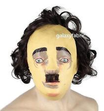 Latex Edgar Allen Poe Mask Halloween High Quality Fancy Dress The Following Male