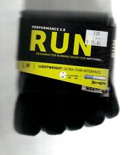 Injinji Performance 2.0 Run  Crew Toe Socks Men's  Midweight Cushion FREE SHIP