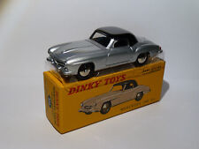 Mercedes 190 Sl - Ref 526+ Certificate to the / Of 1/43 Of DINKY Toys Atlas