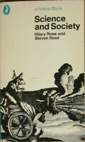 Science And Society (Pelican), Rose, Steven, Rose, Hilary, Very Good Book