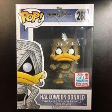 POP! Disney Kingdom Hearts Halloween Donald Exclusive #268 Figure Funko F