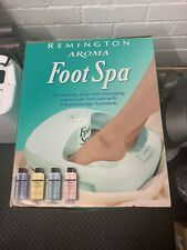 Remington Foot Spa & Pedicure with Salts
