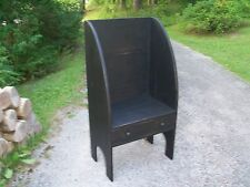 Primitive Handcrafted Settler's Chair/Bench