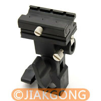 Flash Shoe Umbrella Holder Swivel Light Stand Bracket B