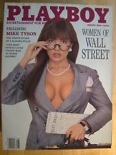 Original Playboy Magazine August 1989 Brandi Brandt Nikki Sixx ex Women Wall St