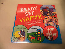 Kids Ready Set Watch Learn Shows TLC DVDs Paz SaveUms Hi-5 Peep Toddworld