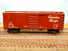 Ho Scale Kar-Line Canadian Pacific Cp 200020 40' Box Car Rtr