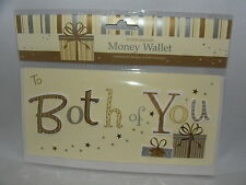 TO BOTH OF YOU MONEY WALLET FOR MONEY OR GIFT VOUCHER
