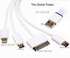 4 in 1-MULTI-USB CHARTERING CABLE FOR  IPHON, SAMSUNG, MINI usb, and MICRO