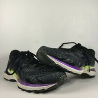 Asics GT-2000 8th Women's Size 7.5 Black Running Training Jogging Shoes 1012A591