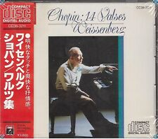 CHOPIN 14 VALSES CD rare JAPAN PRES new CC38-3211 alexis wissenberg