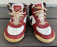 New listing Vtg 1985 Nike Air Jordan I 1 Baby Shoes Sneakers Original Og Toddler Size 5.5